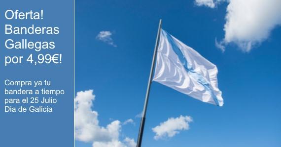 Oferta! Banderas Gallegas a 4,99€!